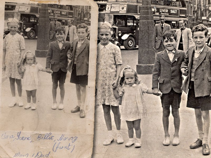 old photos restored in dublin